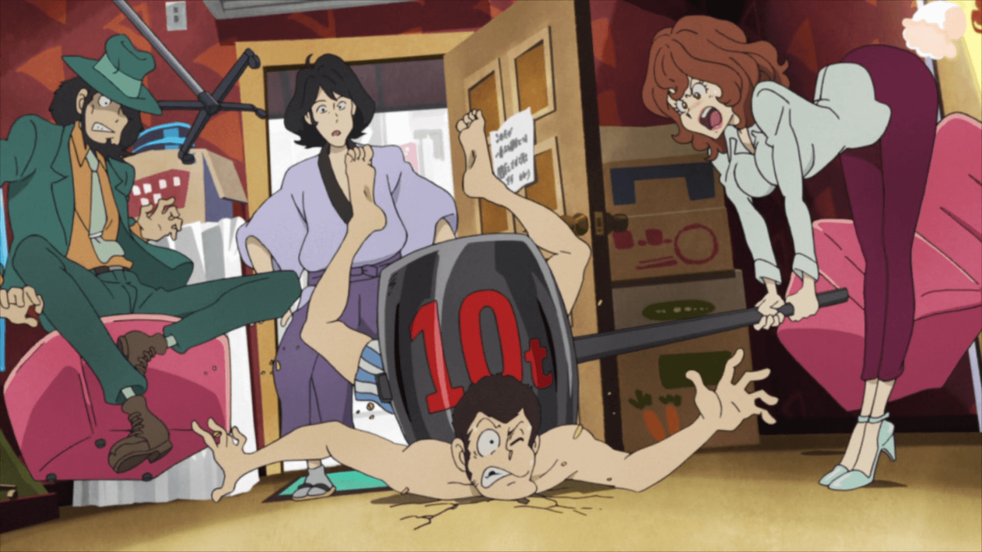 Lupin III Part V 06 001 29746 - Lupin III Part V Episode 06 Subtitle Indonesia
