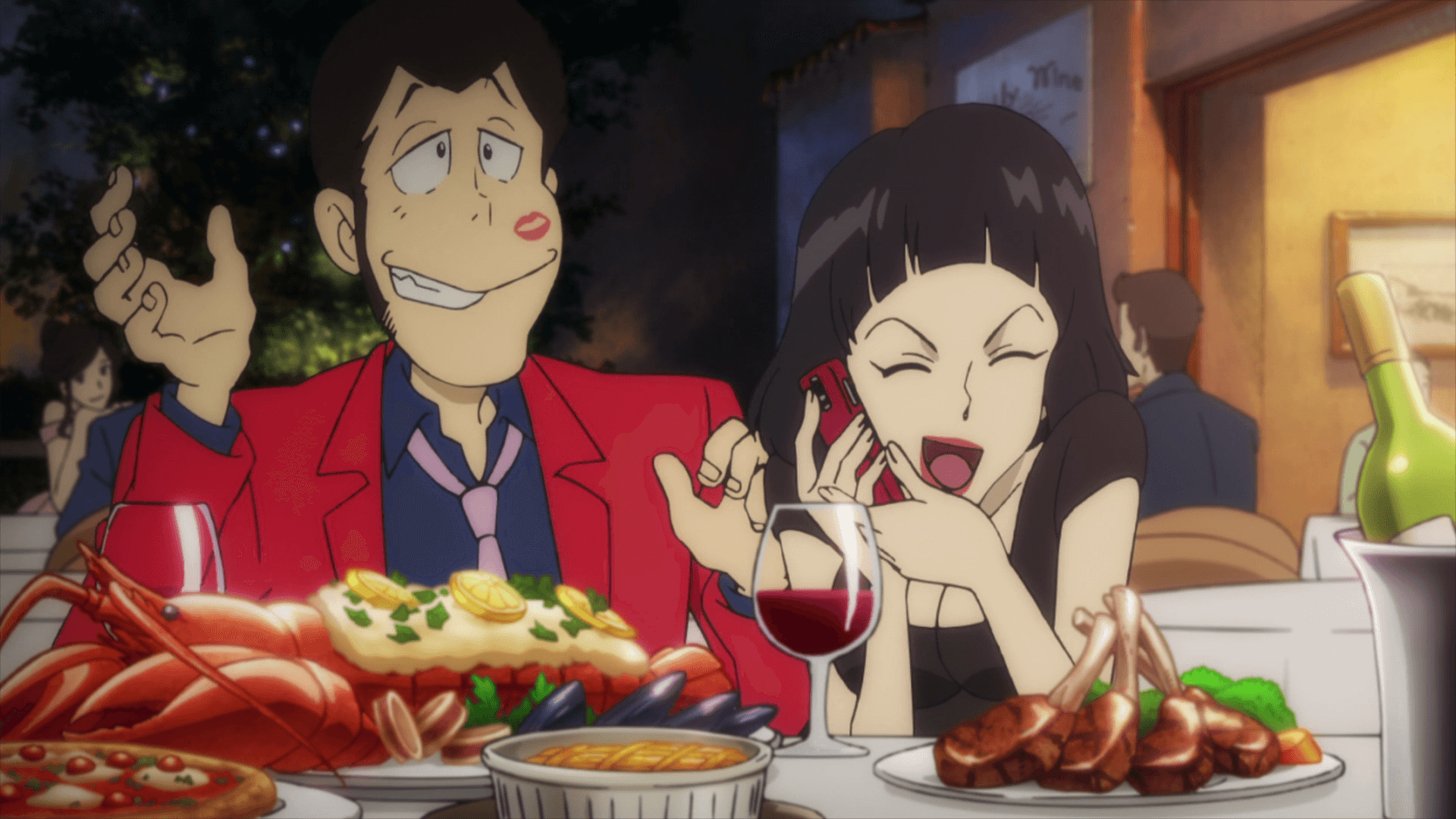 Lupin III Part V 12 001 16050 - Lupin III Part V Episode 12 Subtitle Indonesia